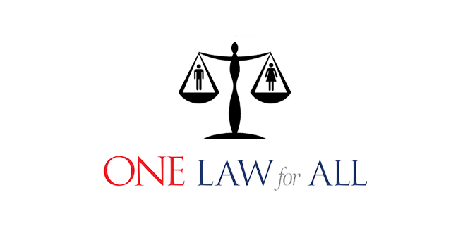 One Secular Law for All